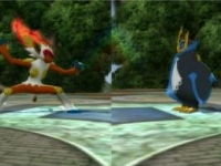 Kung-fu Monkey versus Battleship Penguin - now in 3D!