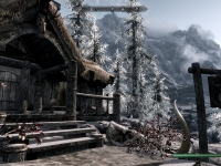 Skyrim, land of wooden longhouses and snow. And ale. Lots of ale.