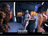 With Ashley and Liara aboard the Normandy, Garrus knew he didn't stand a chance with Shepard.